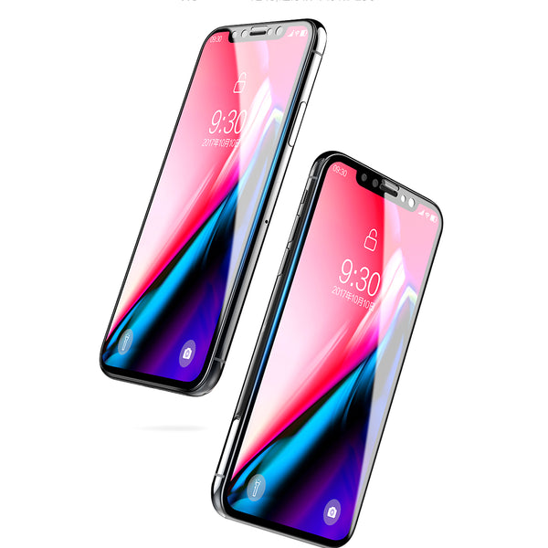 iPhone X 6D Dust Proof Tempered Glass Screen Protector [100% Original]