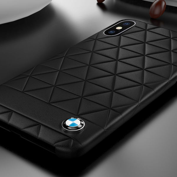 BMW ® iPhone X Genuine Leather Limited Edition Case