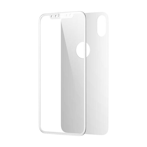iPhone X 4D Front + Back Tempered Glass