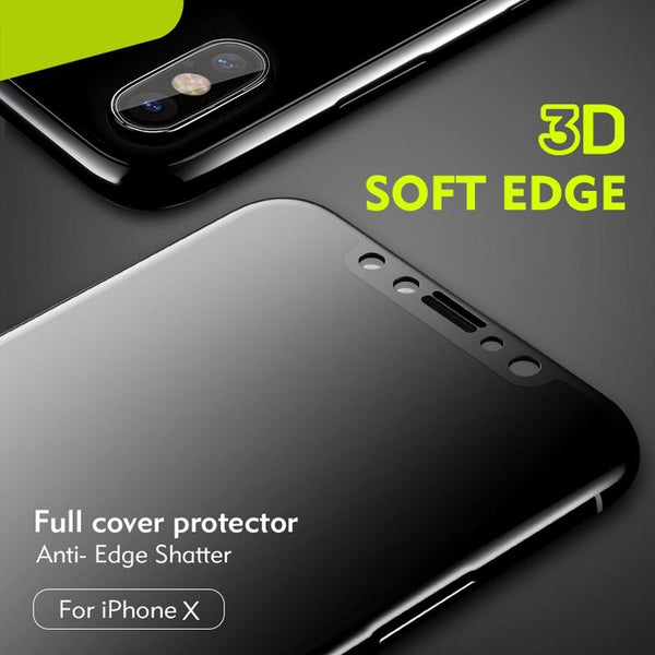 Original iPhone X Matte Tempered Glass Protector