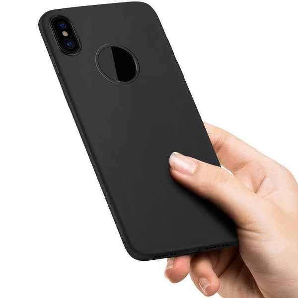 iPhone X Soft TPU Frosted Shock Proof Case