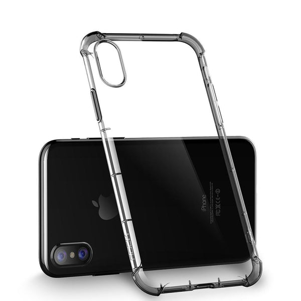 iPhone X Shockproof Heavy Duty Transparent Case