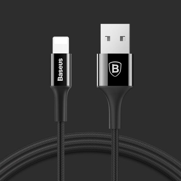 Baseus Shining Lightning Cable With Jet Metal