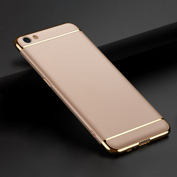 Oppo F3 Plus Luxury Metal Plating Matte Finish Cover