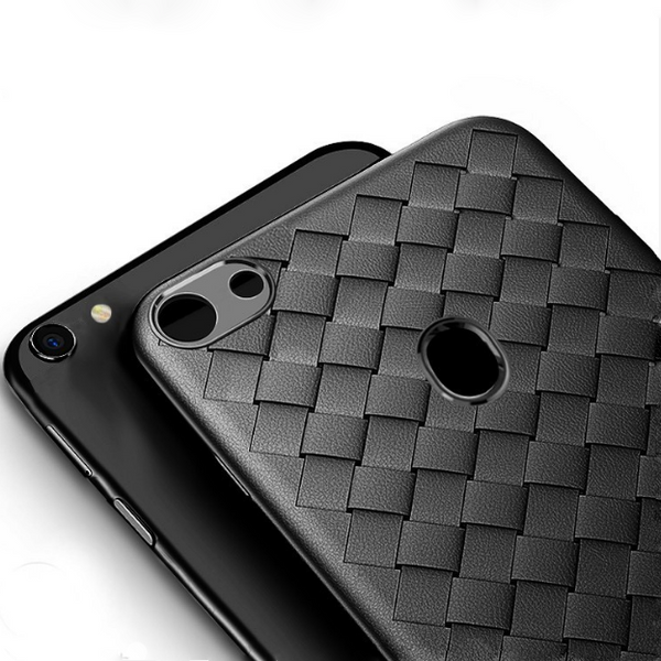 Oppo F7 Ultra-thin Grid Weaving Case
