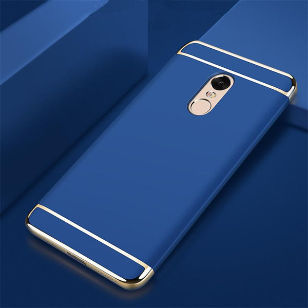 Redmi Note 5/5 Pro Luxury Metal Plating Matte Finish Cover