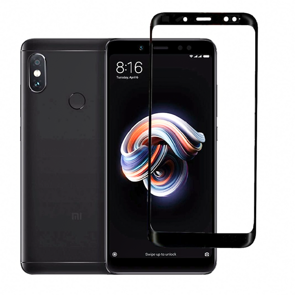 Redmi Note 5 Pro 5D Tempered Glass Screen Protector