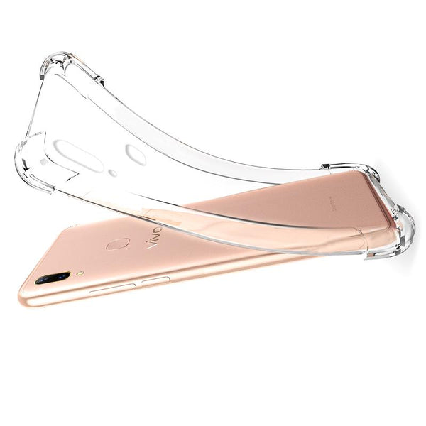 Vivo V9 Clear View Ultra-Protection Silicone Case
