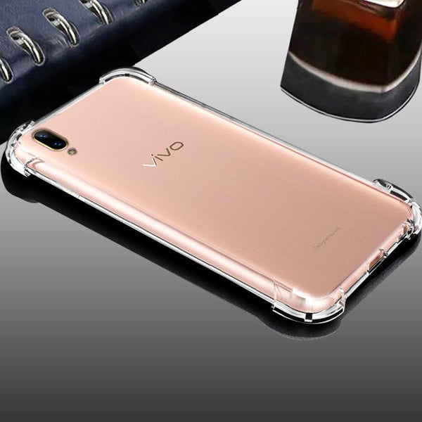 Vivo X21 Clear View Ultra-Protection Silicone Case