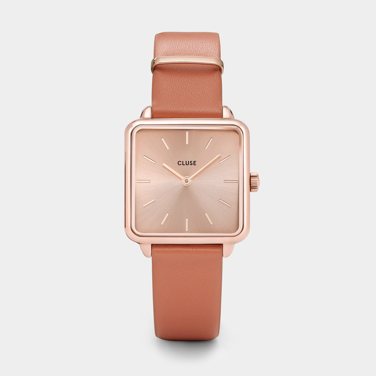 CLUSE La Tétragone Rose Gold/Butterscotch CL60010 - watch