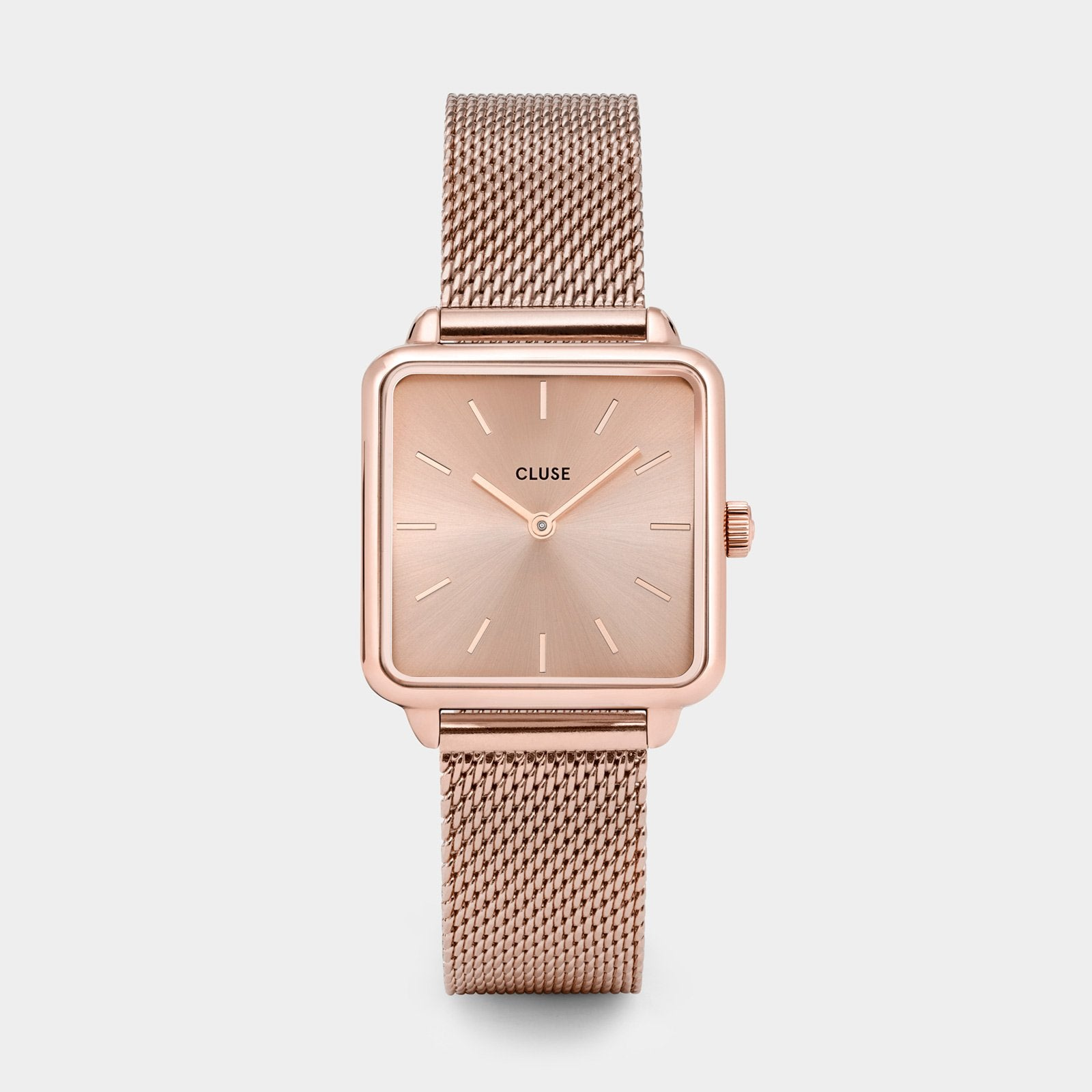 CLUSE La Tétragone Mesh Full Rose Gold CL60013 - watch