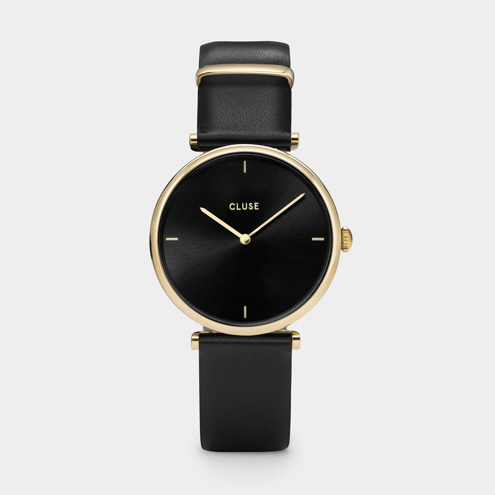 CLUSE Triomphe Gold Black/Black CL61006 - watch