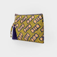 CLUSE x Mino Design Bow Wow Tassel ​Clutch ​Bag CLB003 - clutch bag side