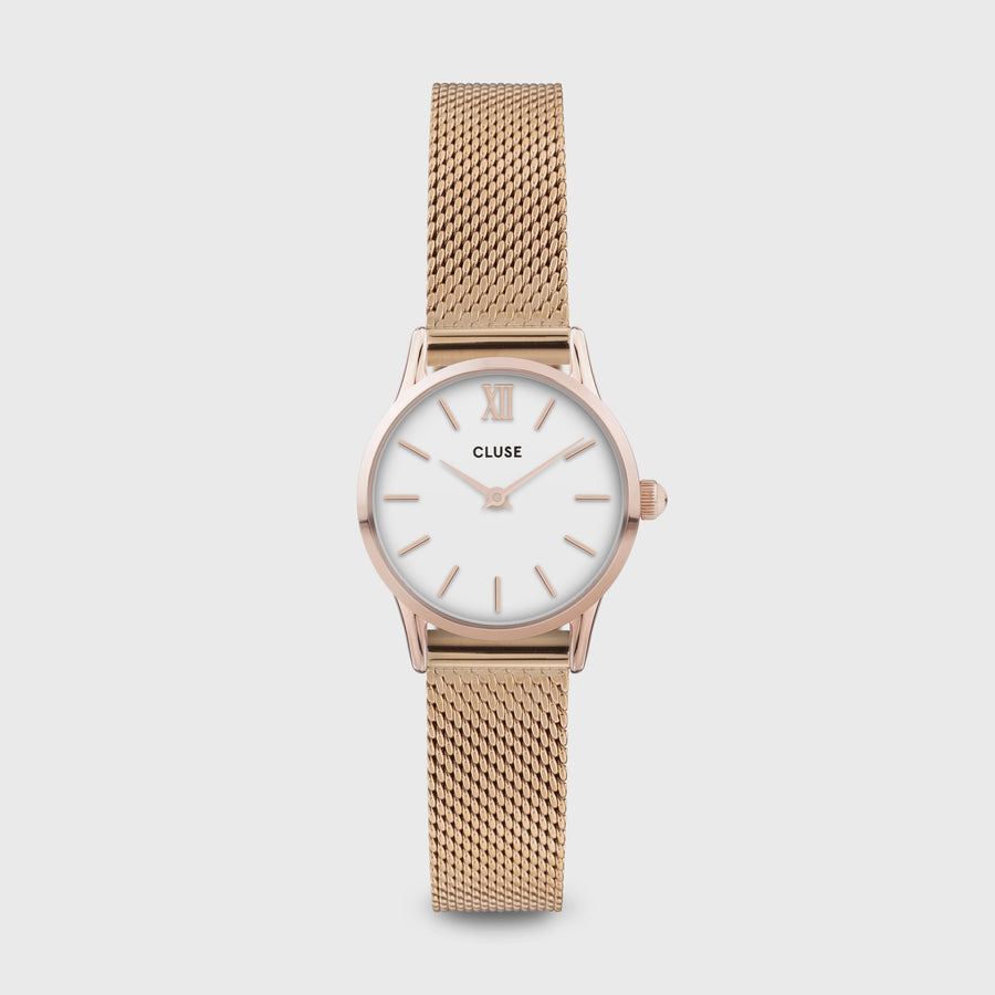 CLUSE La Vedette Mesh Rose Gold White/Rose gold CW0101206002 - Watch