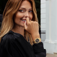 CLUSE Vigoureux Gold by Caroline Receveur CG0101210001 - Watch on model