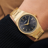 CLUSE Vigoureux Gold by Caroline Receveur CG0101210001 - Watch on wrist