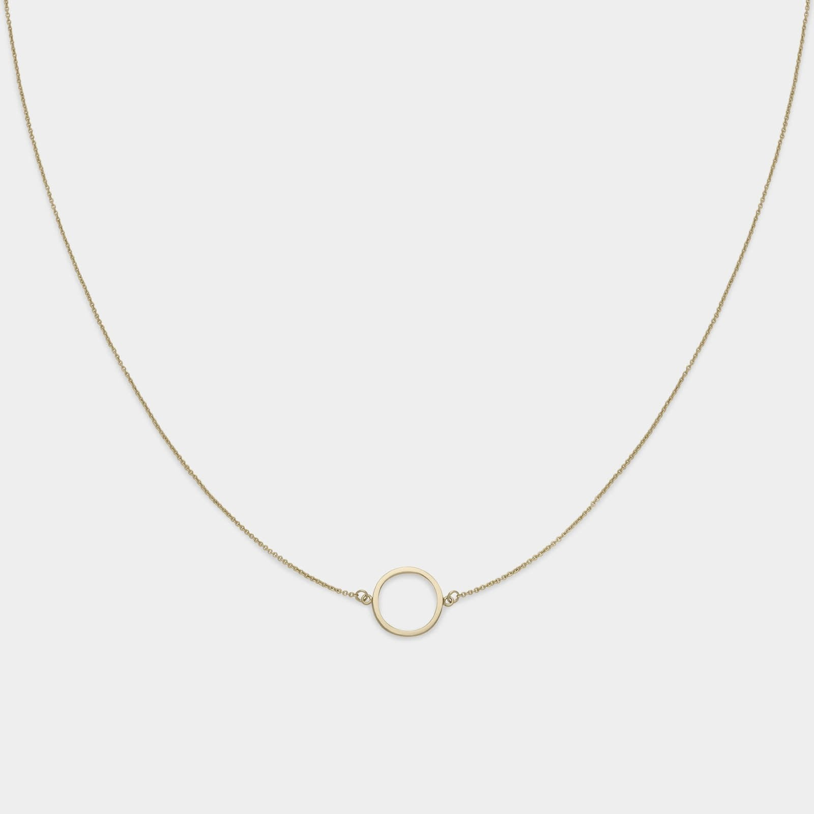 CLUSE Essentielle Gold Open Circle Choker Necklace CLJ21002 - necklace