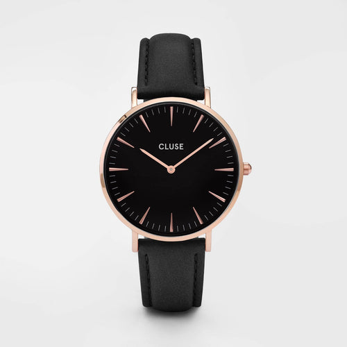 Image: CLUSE La Bohème Rose Gold Black/Black CL18001 - watch