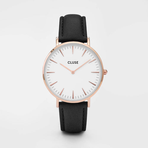 Image: CLUSE La Bohème Rose Gold White/Black CL18008 - watch