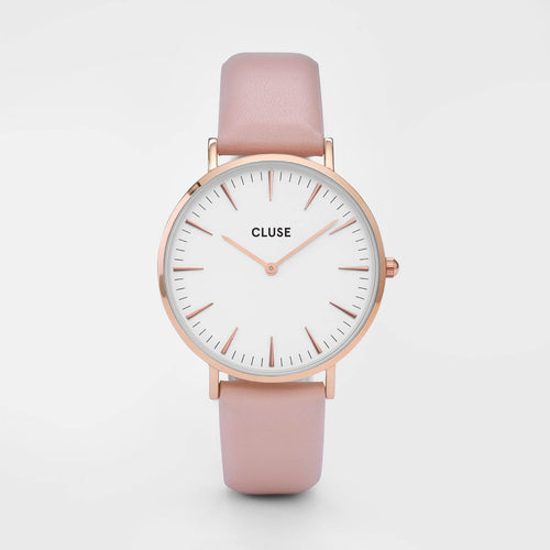 Image: CLUSE La Bohème Rose Gold White/Pink CL18014 - watch