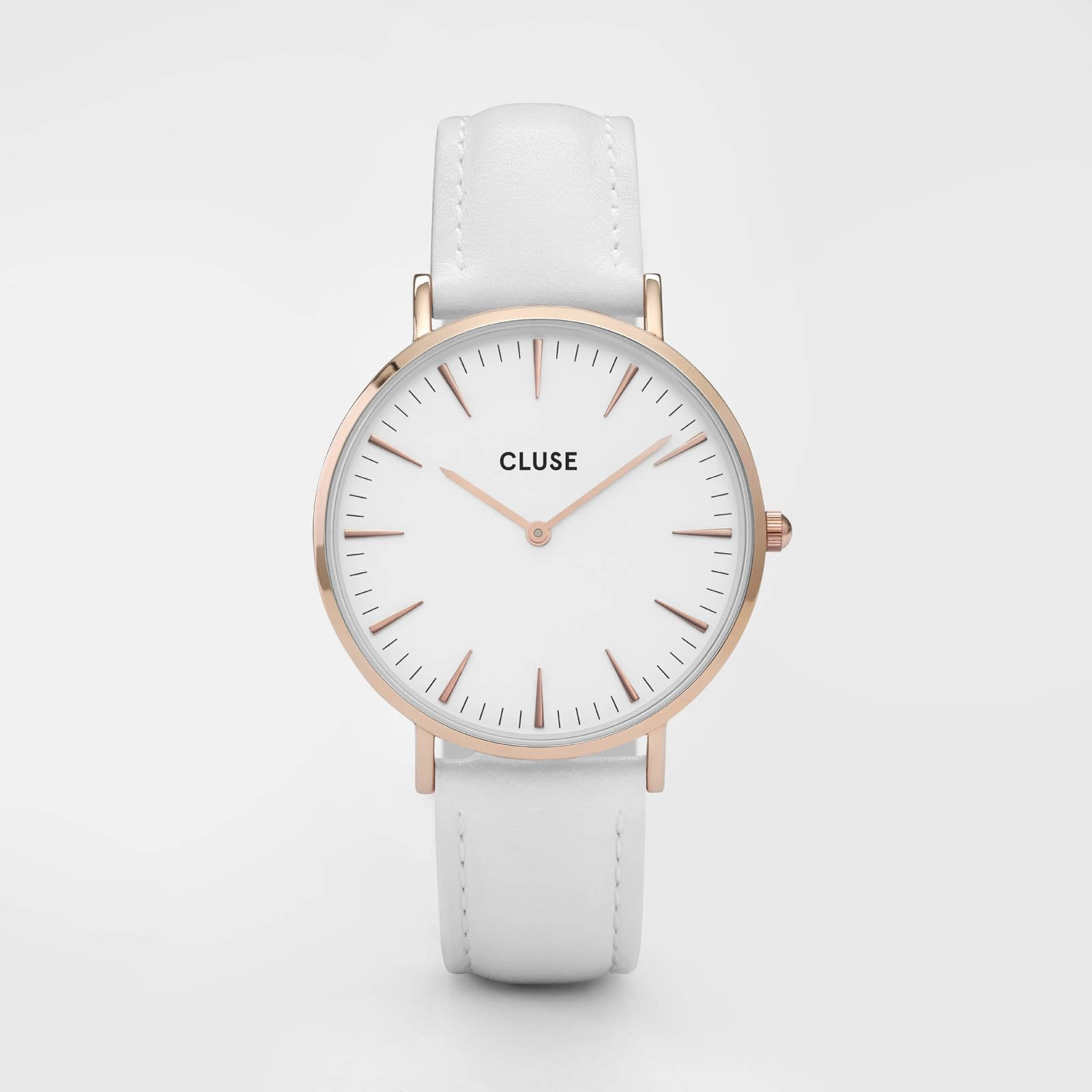 CLUSE La Bohème Rose Gold White/White CL18042 - watch