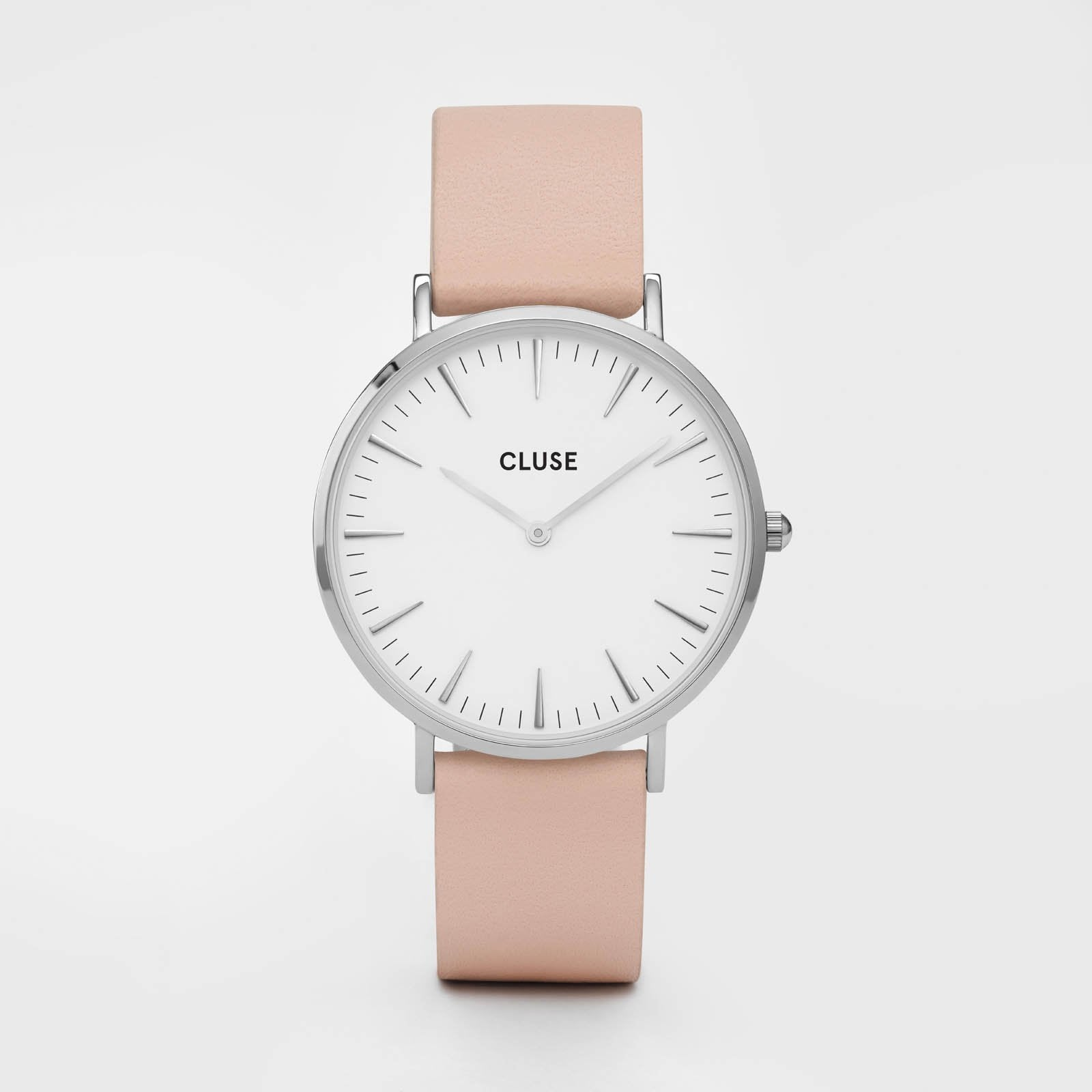CLUSE La Bohème Silver White/Nude CL18231 - watch
