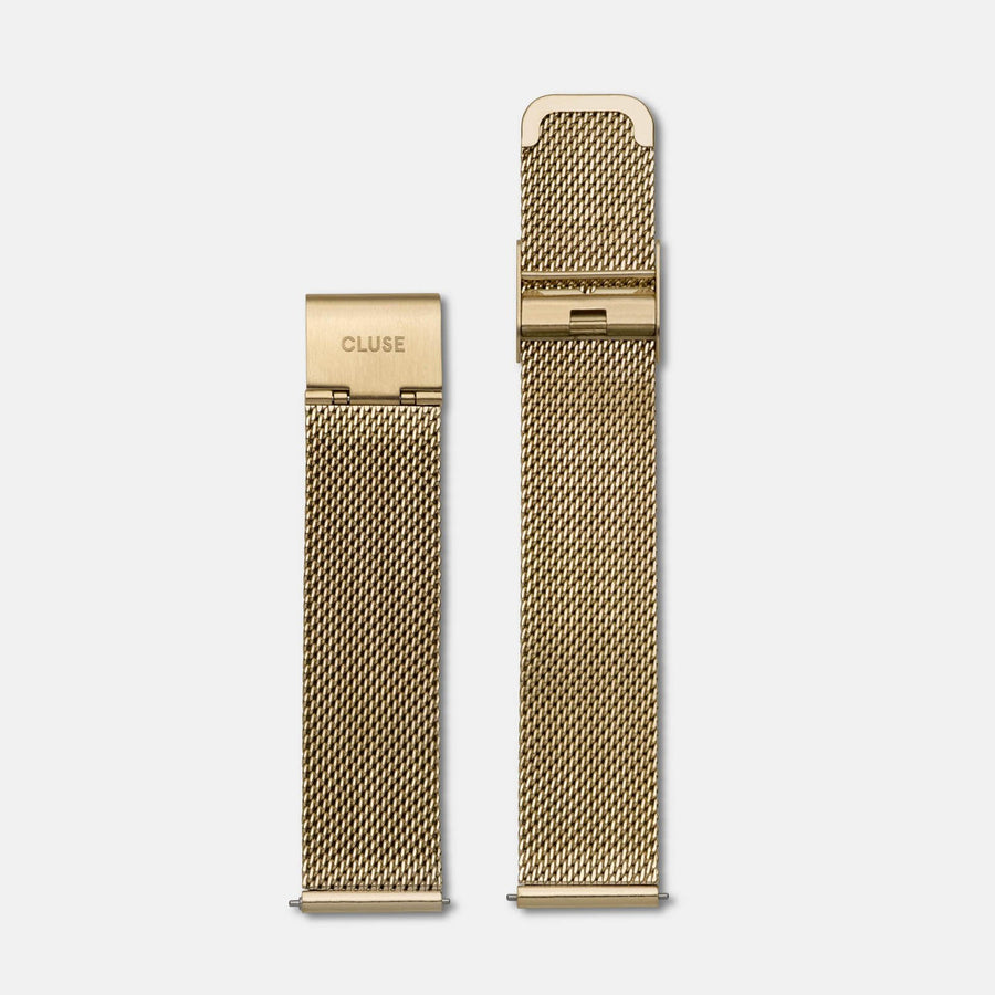 CLUSE 18 mm Strap Mesh Gold CLS046 - strap