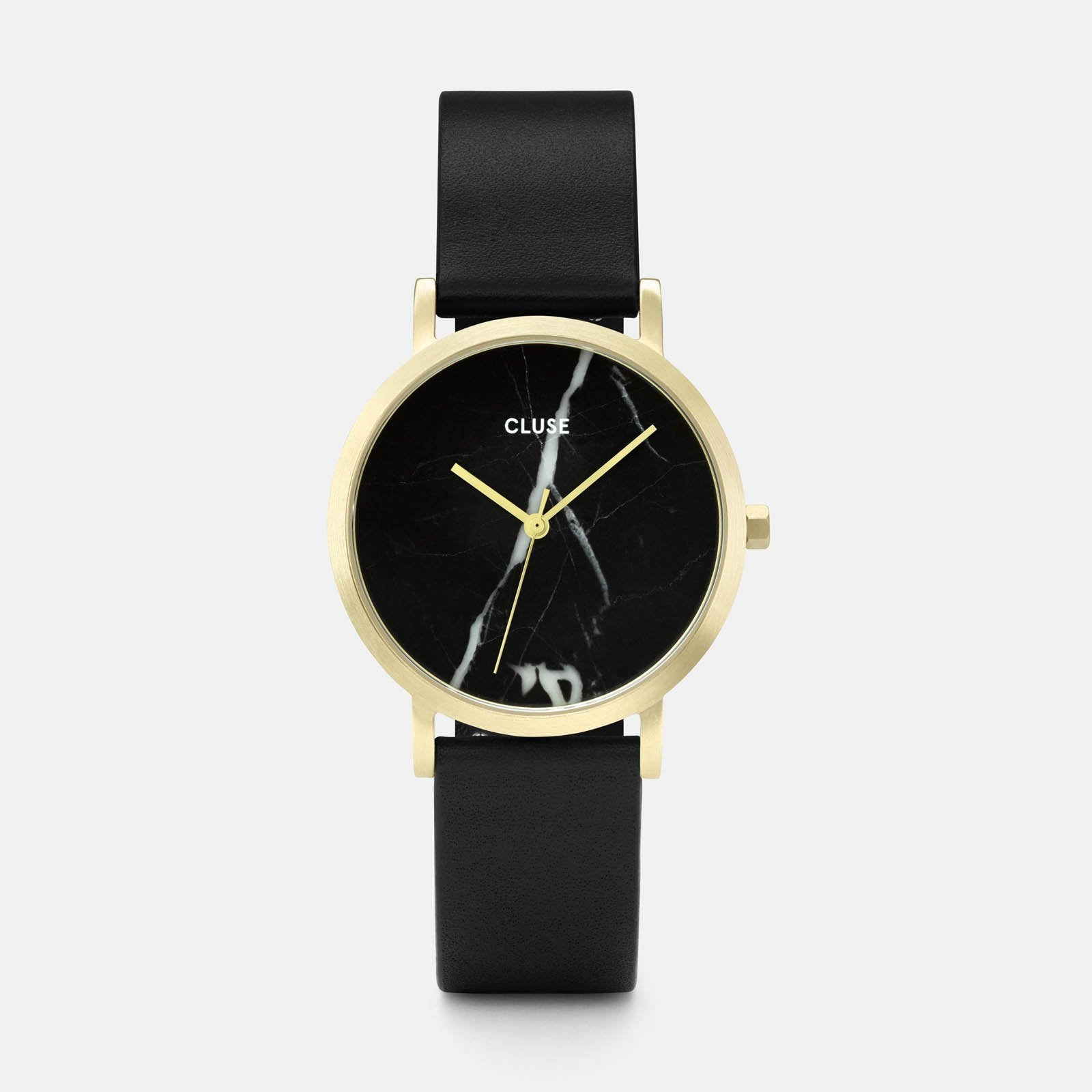 CLUSE La Roche Petite Gold Black Marble/Black CL40102 - watch
