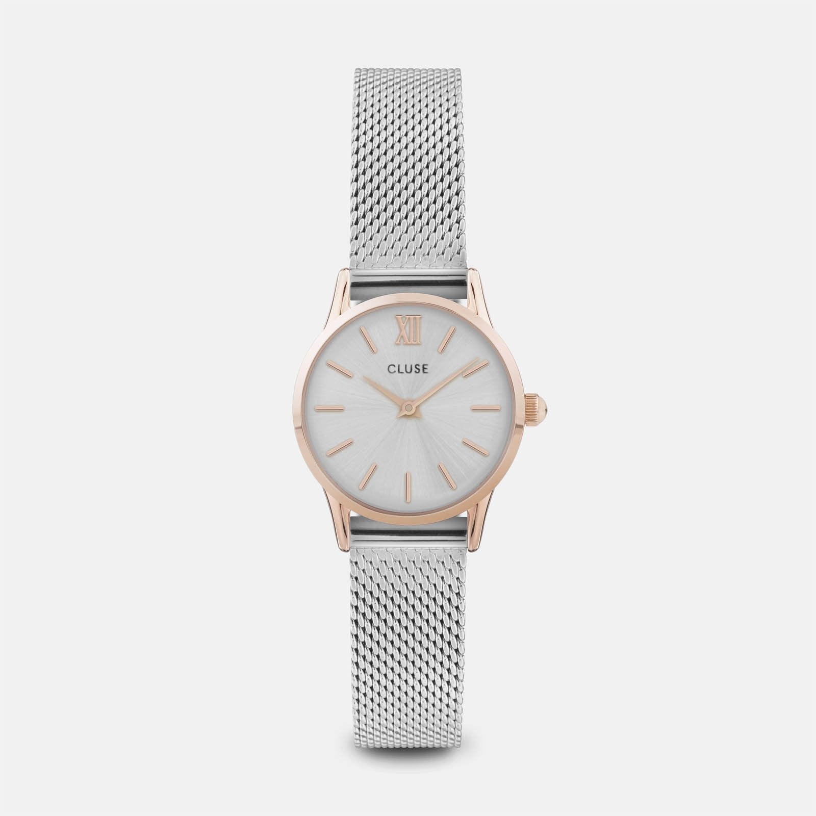 CLUSE La Vedette Mesh Rose Gold/Silver CL50024 - watch
