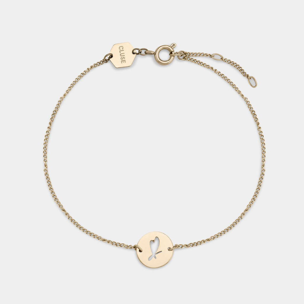 CLUSE Heart Bracelet Give Away Gold CLJ11014 - Bracelet