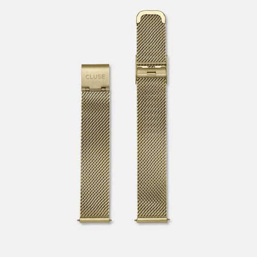 Image: CLUSE 16 mm Strap Mesh Gold CLS346 - strap