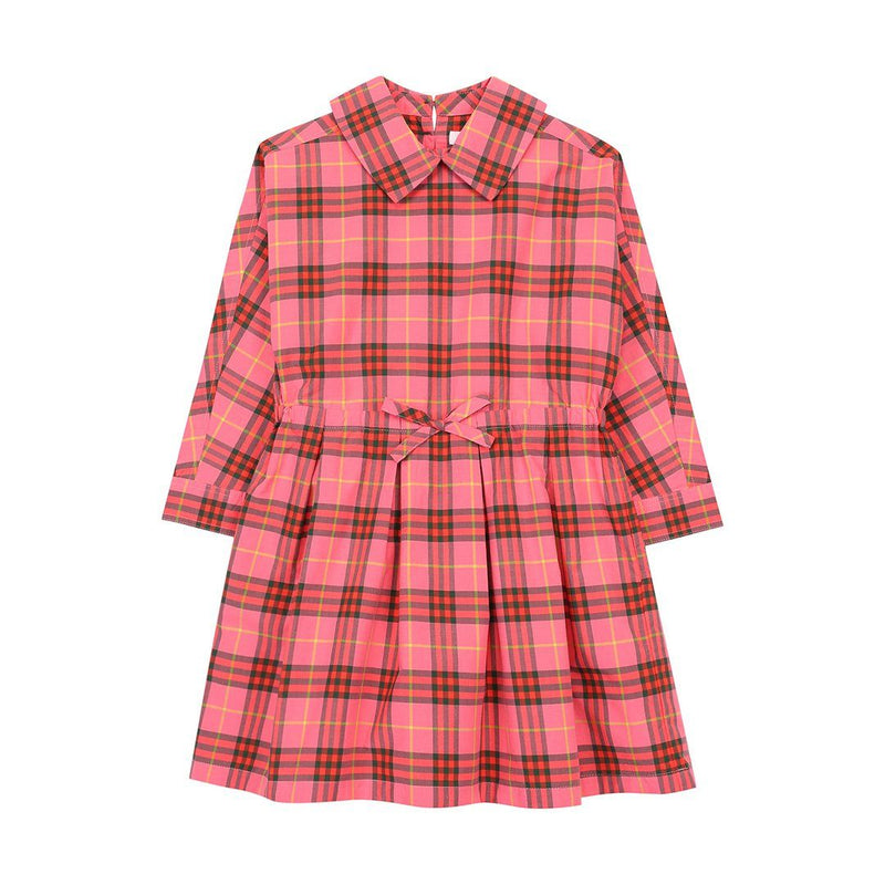 Burberry IG2 Mini Crissida Dress For Girl Babies, Coral