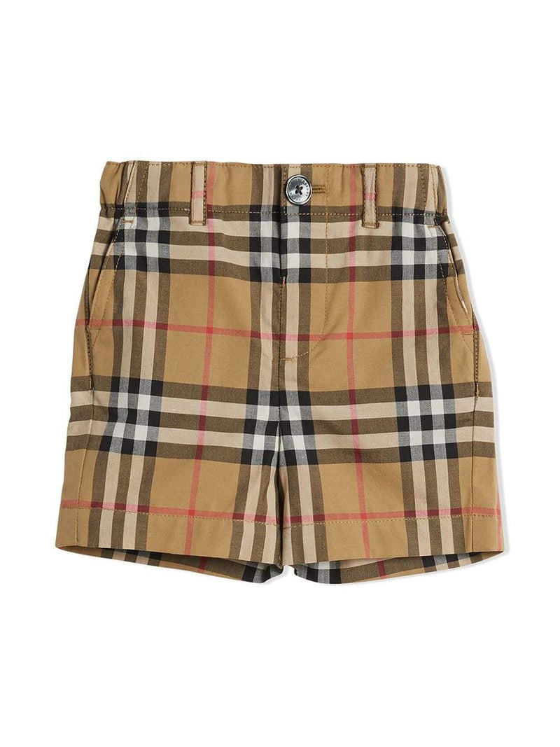 Burberry IB4 Sean Check For Boys/Babies, Yellow
