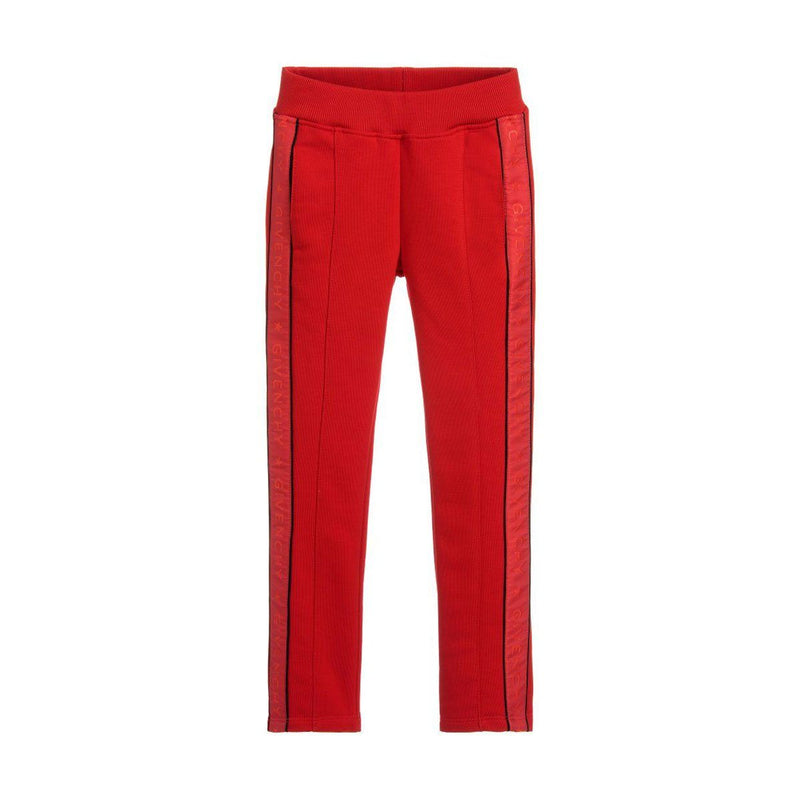 Givenchy Jog Pants For Girls, Red