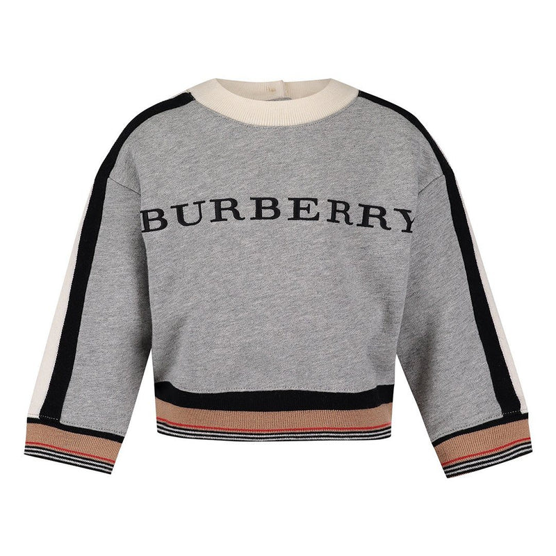 Burberry IB5 Stanel- Sweater For Boys, Grey