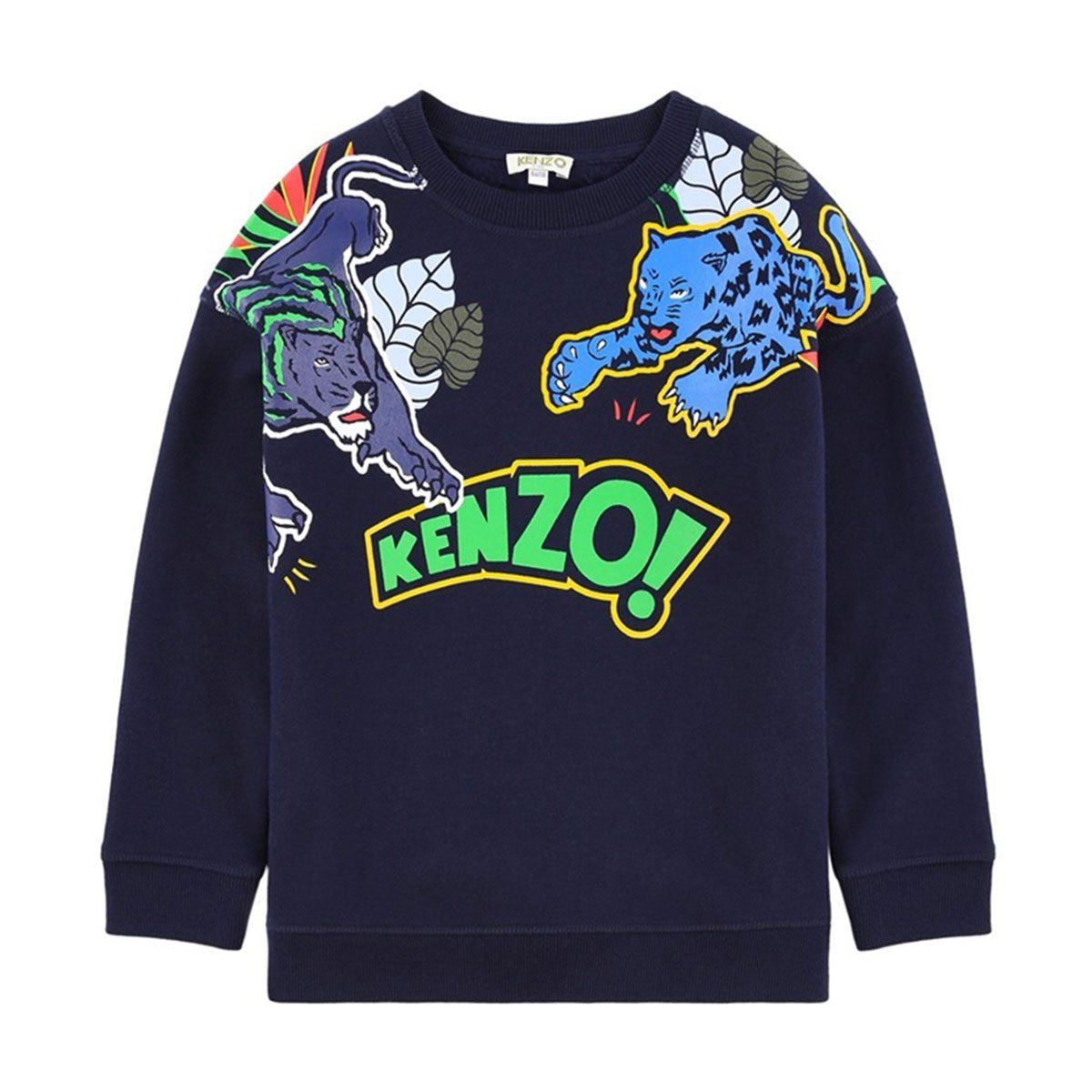 Kenzo - Enzio Sweatshirt For Boys, Navy