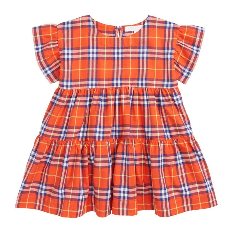 Burberry IG2 Alima Dress For Girls/Babies, Orange