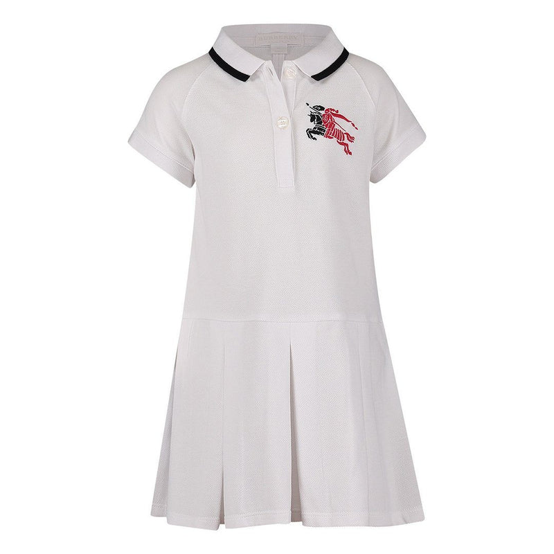 Burberry IG2 Mini Mollyanna Dress For Girls/Babies, White