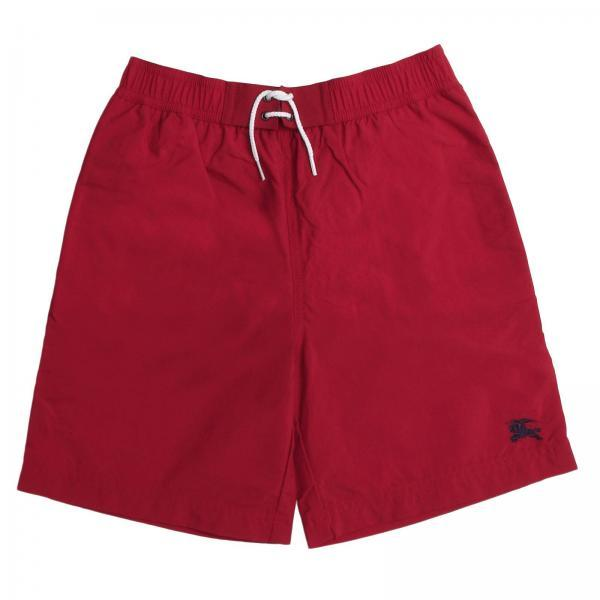 Burberry Swimwear Trunks For Boys, Red