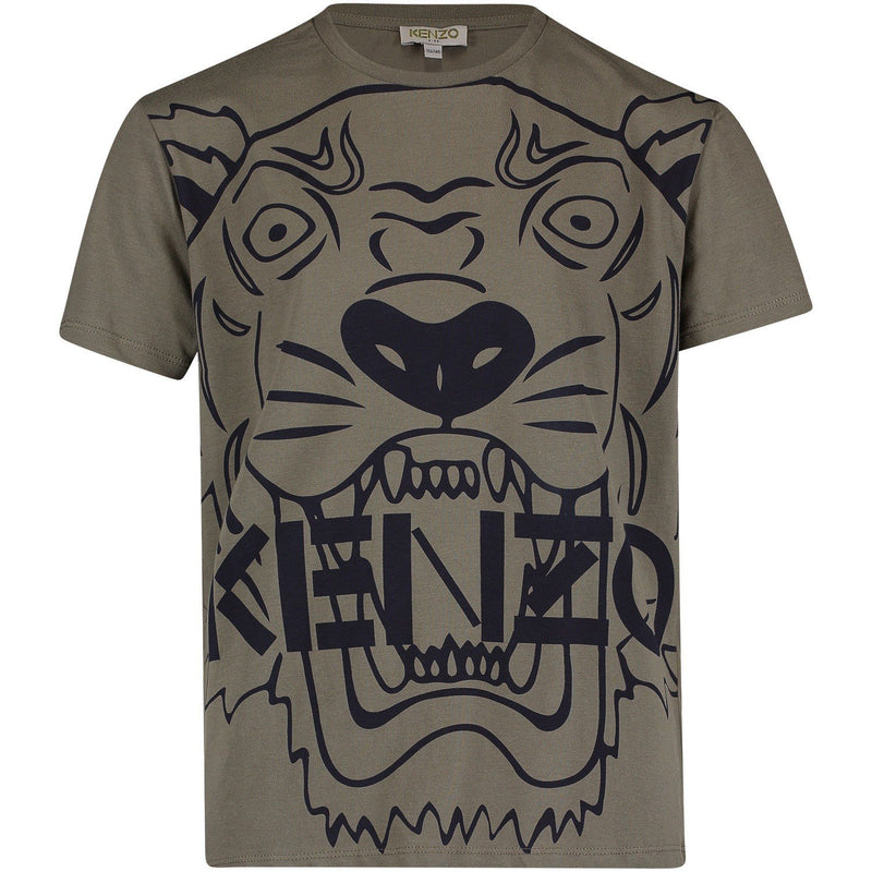 Kenzo T-Shirt Tiger JB3 for Boys, Brown