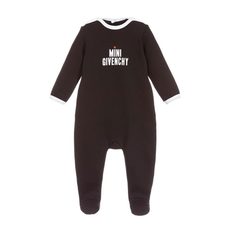 Givenchy Unisex Pajamas For Babies, Black