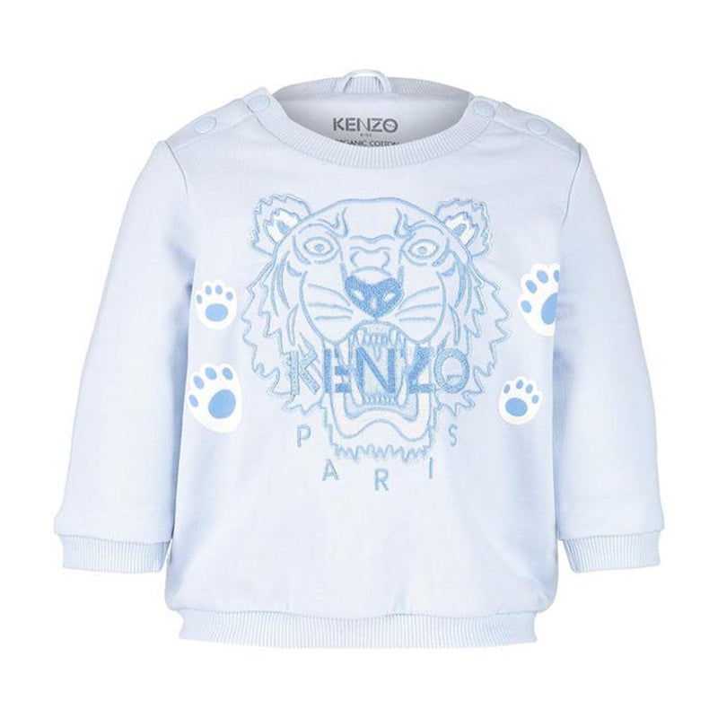 Kenzo Sweatshirt For Boy Baby, Light Blue