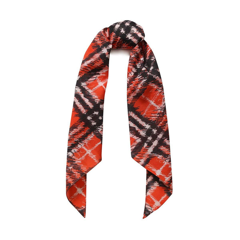 Burberry Cotton Scarf Check Band for Boys, Red