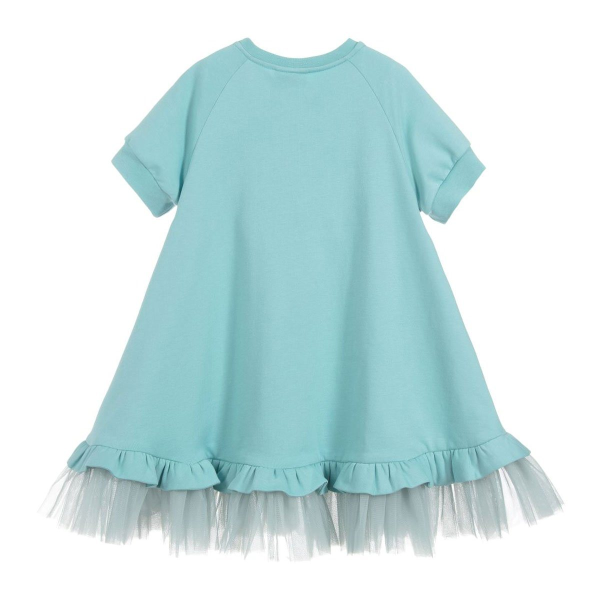 Fendi - Sweat Dress For Girls, Light Green