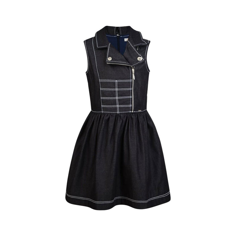 Junior Gaultier - Dress With Collar, Navy Blue