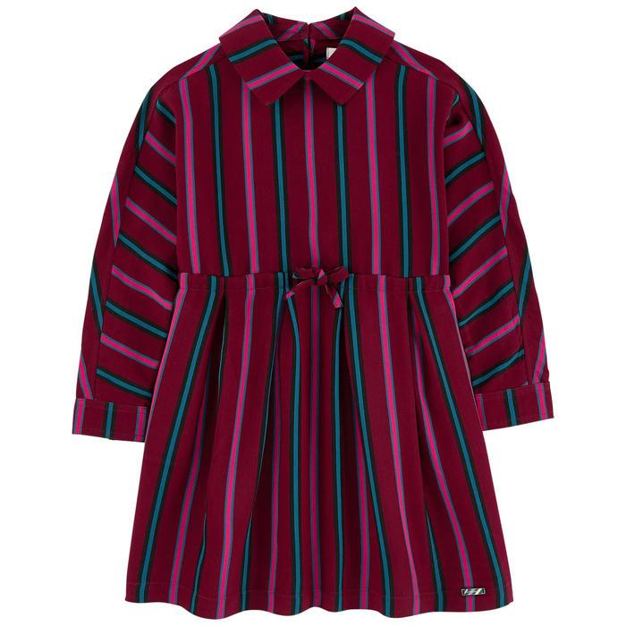 Burberry KG2 Crissida Dress For Girls/Kids, Burgundy