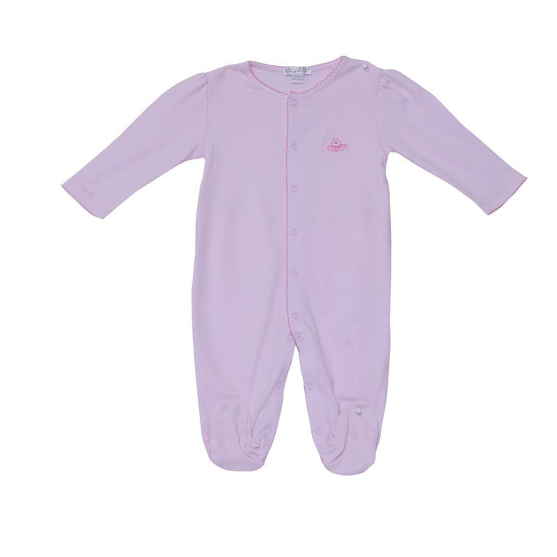 Kissy Kissy Footie Prima Ballerina For Girls, Pink
