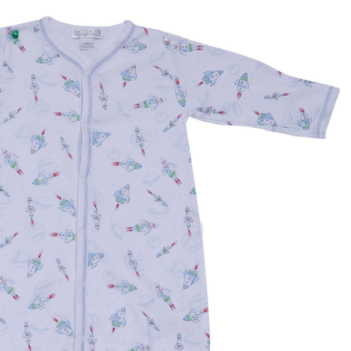 Kissy Kissy -Converter Gown-Rockin Rockets For Boys, Multicolor