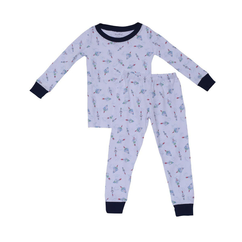 Kissy Kissy Pajama Set-Rockin Rocket Set For Boys, Multicolor
