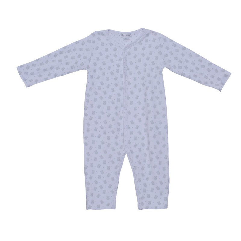 Kissy Kissy - Reversible Playsuit-Beloved Bears Unisex, Silver